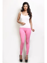 Design Classics Women Leggings - DCS089, dk pink, s