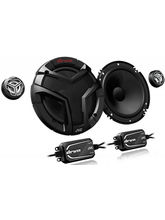 JVC CS-VS608 6-1/2 inch 2-Way Component Speakers With 300 Watts, black