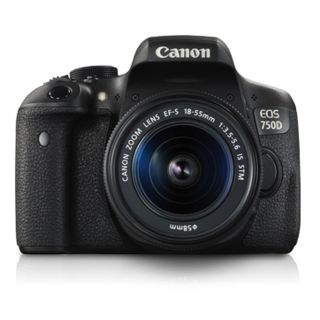 Canon EOS 750D Kit DSLR Camera (with EF-S 18-55mm IS...