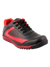 Muxyn Men's Stylish Sports Shoes, 7, black