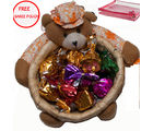 Teddy Basket of Chocolates Gift For Mother