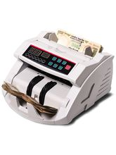 XElectron Money Counting Machine With Fake Currency Detector, white