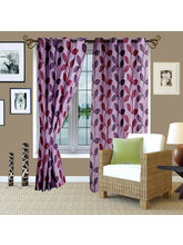 Story At Home Eyelet Door Curtain-Set of 2, design 3