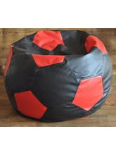 Style Homez Football Style Filled Beans Bag, multicolor, xxl