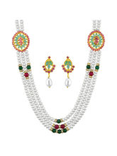JPEARLS Trendy Pearl Necklace Set for Women