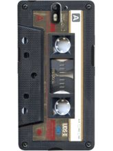 DailyObjects Cassette Gold Case For OnePlus One
