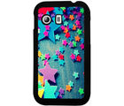 Casotec Colorful Stars Design 2D Hard Back Case Cover for Samsung Galaxy Y S5360