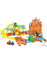 Saffire Pirates Track Combination 23 Train Set with Light Effects, multicolor
