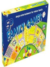 Ekta 50 in 1 Family Games Board Game, multicolor