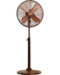 Orient Electric Stand 35 400mm RUBBED BRONZE,  brown