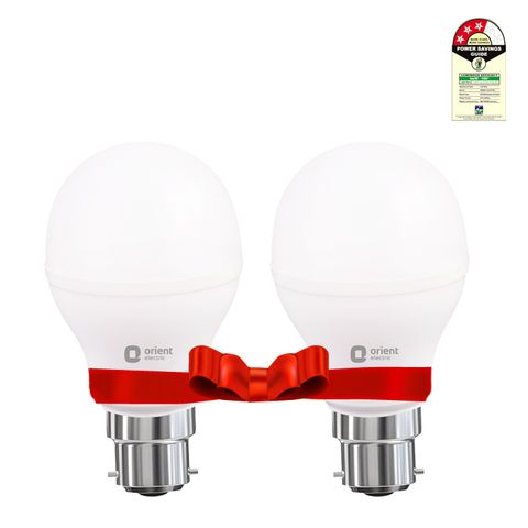 LED LAMP - 9W WHITE - Bundle of 2