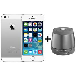 Apple iPhone 5S+ JAM-Plus-speaker, 16 gb,  silver