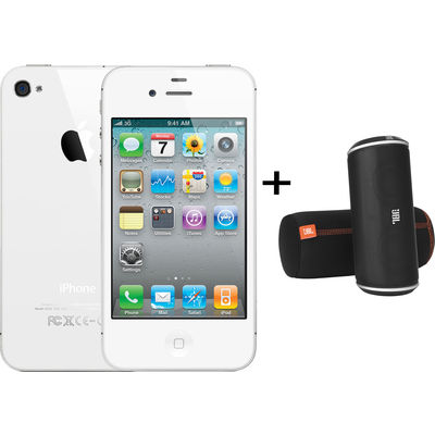 iPhone 4 8GB White JBL Offer