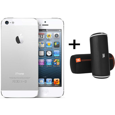 iPhone 5 64GB White JBL Offer