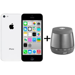 Apple iPhone 5C+ JAM-Plus-speaker,  white, 16 gb