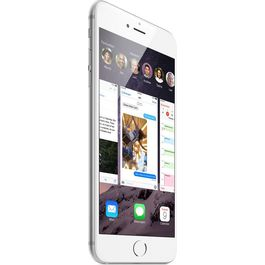 Apple iPhone 6,  silver, 64 gb