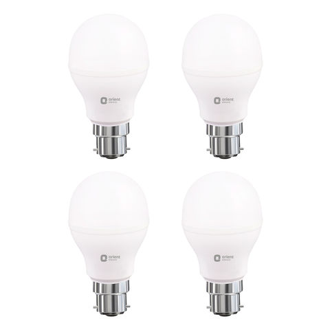 LED LAMP - 12W WHITE - Pack of 6