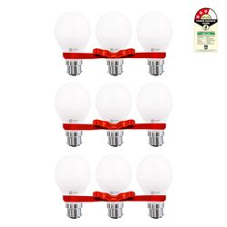 LED LAMP - 9W WHITE - Pack of 9