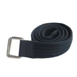 Renz Men s Canvas Belt, navy blue, 34