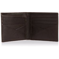 Fastrack Men Goat Milled Leather Wallet - C0370LBR01, brown