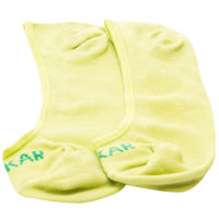 Peds Socks (Set Of 2), 20 cm,  grey melange/parrot green