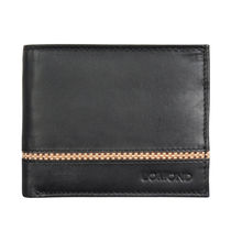 Lomond LM125 Bifold Wallet For Men, black