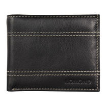 Lomond LM126 Bifold Wallet For Men, black