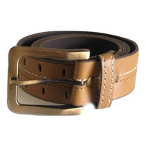 Renz Men's Canvas Belt,  brown, 32