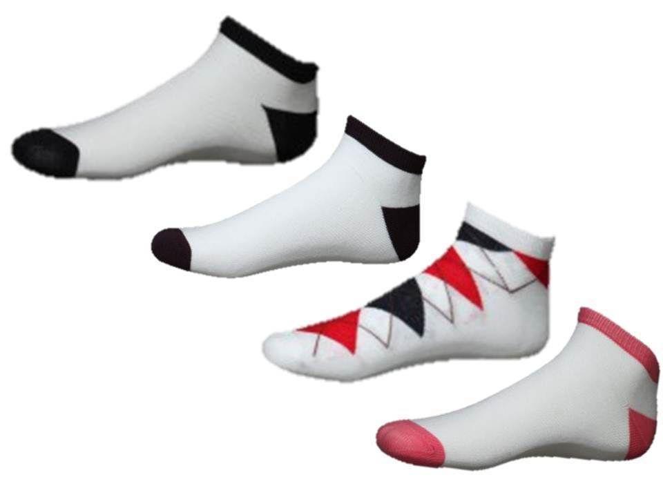 Adora Pack of 4 Sport Socks For Women ADS4015, multicolor By Infibeam @ Rs.174