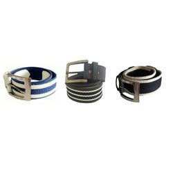Renz Men s Canvas Belts, multicolor, 40