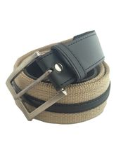 Renz Men's Canvas Belt, 40, multicolor