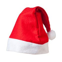 Lime Christmas Santa Claus Cap, red