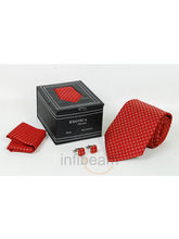 Exotica Red Necktie Gift Set (Red)