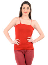 Mynte Women's Camisole, l, red