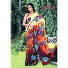Vamika Attractive Chiffon Saree - VMS0020, multicolor