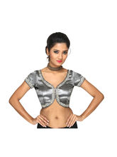 The Blouse Factory Tissue Padded Blouse, silver, 34