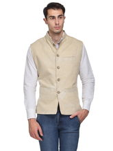 Sobre Estilo Men's Cottswool Nehru Jacket, m, white