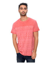 Be Pure Men's Round Neck T shirt, xxl, pink