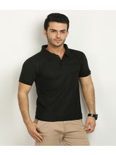 Fundoo T Men's Polo T-shirt, black, s