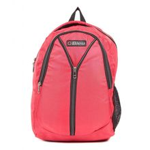 Bleu Laptop Backpack Bag, red