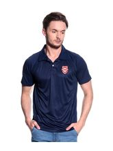 KINGS XI PUNJAB Cricket Polo, xxl, navy