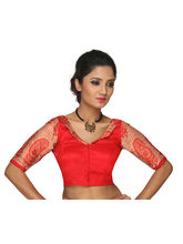 The Blouse Factory Stunning Colla Blouse, red, 38