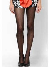 Wisegirls Sensation Pattern Tights, black