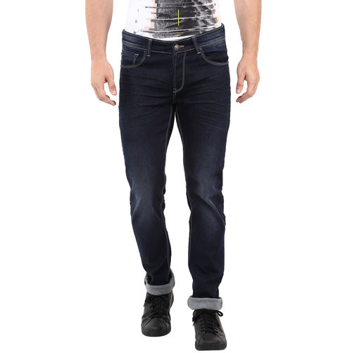 Skinny Low Rise Narrow Fit Jeans, 32,  dark blue