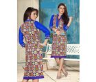 Fabliva Latest Heavy Designed Women's Stitched Kurtis, multicolour