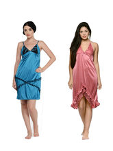 Klamotten Babydoll Combo Pack Of Two, multicolor