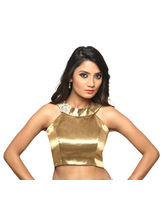 The Blouse Factory Tissue Blouse, 40, gold