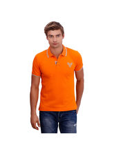 Punctuate Proficient Business Casual T-Shirt, orange, m