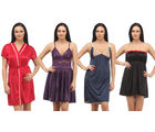 Klamotten Intimate Babydoll Combo Pack of Four, multicolor