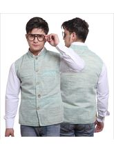 Sobre Estilo Stylish Men Summers Nehru Jacket - WV0012430, green, xl
